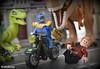 Thanos vs. Chris Pratt (WattyBricks) Tags: lego thanos mad titan peter quill owen grady chris pratt josh brolin dinosaur jurassic park world fallen kingdom velociraptor tyrannosaurus rex