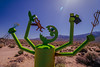 POTD 118 (Webtraverser) Tags: 365picturesin2018 art ca395 cyclopsrobot d7000 ego egothegreenmonster everydayphotographer jaelhoffmann metalart nikon olanchasculpture pad2018118 pictureaday pictureoftheday publicart robot sculpture olancha california unitedstates us