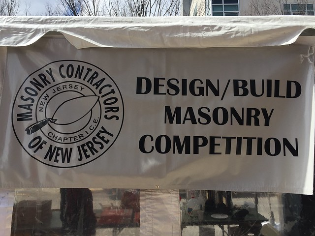 Masonry Design/Build Competition, April 7-8, 2018 at NJIT CoAD