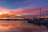 A Tasmanian Sunrise (sarahOphoto) Tags: saint st helens georges bay sunrise reflections water boats yachts oz clouds sky nature landscape canon 6d tasmania tasmanian