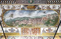 Vue de Caprarola (Palais Farnese, Caprarola, Italie) (dalbera) Tags: dalbera escalier caprarola italie palaisfarnese vignola peinturesmurales maniérisme