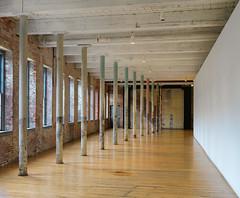 Converging (Tim Ravenscroft) Tags: converging hallway museum northadams art architecture reclaimed factory hasselblad hasselbladx1d x1d