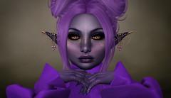 Violetta Closeup (Serene Fairey) Tags: iheartslfeed fantasyfaire ane tresblah lamb catwa swallow izzies ghoul plastik maitreya
