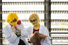 3740 (PurpleAlyss - Photos et Cosplay) Tags: cosplay alphys undertale underfell scientist rébk yellow video game purplealyss