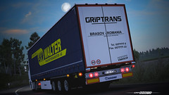 Krone Profiliner - GRiPTRANS / LKW Walter [ETS2] (gripshotz) Tags: krone profiliner grip trans lkw walter man tga romania euro truck simulator ets 2