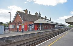 Wareham (Trev 'Big T' Hurley) Tags: wareham station platforms canopy lswr