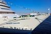 Ocean Dream viewing (sapphire_rouge) Tags: 横浜港 横浜 peaceboat 客席 yokohamaport yokohama oceandream passengership