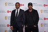 Noel Clarke and Ashley Walters pose in the press room at the Virgin TV British Academy Television Awards at The Royal Festival Hall on May 13, 2018 in London, England. (Photo by Jeff Spicer/Getty Images)