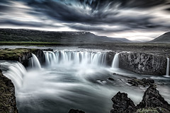 Godafoss (deanallanphotography) Tags: art adventure beauty cascade clouds iceland landscape light mountain ngc natgeo nature outdoor photography river scenic travel view water waterfall