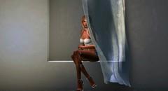 ♪ You should know the truth (ʍҽցɑɾɑ) Tags: secondlife sl window curtain drape