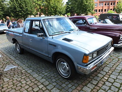 Datsun 720 King Cab Pickup 1983 (Zappadong) Tags: datsun 720 king cab pickup 1983 winsen luhe 2017 zappadong oldtimer youngtimer auto automobile automobil car coche voiture classic classics oldie oldtimertreffen carshow