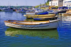 Saltash Harbour (Jonathan Goddard1) Tags: pentax k1 cornwall saltash tamar boats water reflections