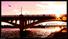 Mill Avenue Bridge, Tempe, Arizona (Ken Mickel) Tags: arizona citiscape kenmickelphotography lake lakes landscape outdoors sky sunsets tempe tempetownlake waterscape architecture backlighting backlightingphotography backlit backlitphotography bridge photography sunset water unitedstates us