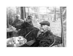 (Perilouc) Tags: smoking bw street ricoh athens greece