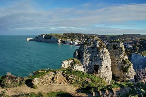 The cliffs of Étretat
