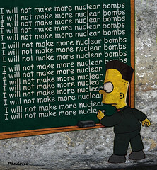 kim jong un north korea i will not make more nuclear bombs by pandorco (Pandorco) Tags: kim jong un north korea nuclear funny