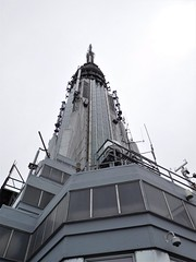 the top of the Empire State Building (kenjet) Tags: ny nyc newyork newyorkcity downtown manhattan skyscraper tall building buildings structure architecture empirestatebuilding artdeco midtown tallest