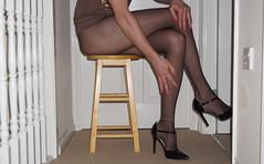 You should feel these ... (Anna Vinny) Tags: crossdresser sheertights blacktights tbar tgurl sissy tranny