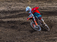 Out Of A Tight Turn (John Kocijanski) Tags: motorcycle motocross people race sport dirtbike vehicles canon70300mmllens canon7d