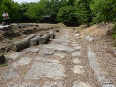 Episcopal Basilica Road, Dion  (1).JPG (tobeytravels) Tags: alexanderthegreat alexander3rd macedon macedonia thucydides brasidas orpheus hellenistic cranicos leake