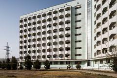 Tajik State University Hostel. (Stefano Perego Photography) Tags: stepegphotography stefano perego building dormitory concrete modernism modernist brutalism facade pattern soviet architecture design central asia modern