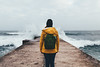 Wild Atlantic (Daniel Quarg) Tags: portugal atlantic portrait girl pov nature landscape travel mood waves ocean