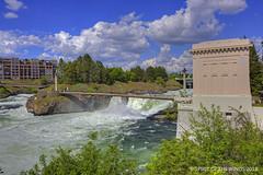 "The South Half (jimgspokane) Tags: spokanewashingtonstate spokaneriver spokanefalls rivers waterfalls today´sbest ""nikonflickraward"" otw"