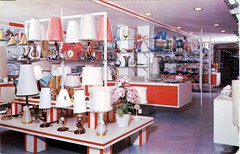 La Boutique Aux Cadeaux, St Jerome, Quebec (SwellMap) Tags: postcard vintage retro pc chrome 50s 60s sixties fifties roadside mid century populuxe atomic age nostalgia americana advertising cold war suburbia consumer baby boomer kitsch space design style googie architecture