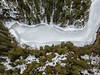 Ice bay (kaifr) Tags: bay trees drone forest birdseyeview winter ice telemark norway no
