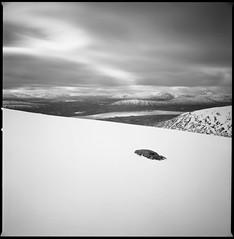 Rannoch Moor from Leum Uilleim (Mark Rowell) Tags: rannochmoor leumuilleim highlands scotland hasselblad 903 swc fuji acros bw 120 6x6 mediumformat film
