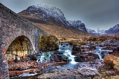 Russel Strathcarron 10 March 2018 00022.jpg (JamesPDeans.co.uk) Tags: landscape winter season westhighlands printsforsale mountains roads weather unitedkingdom waterfall wwwjamespdeanscouk history roadbridge landscapeforwalls jamespdeansphotography uk digitaldownloadsforlicence forthemanwhohaseverything highlands gb greatbritain stonebridge snow scotland arch river bridge objects camera hdr europe cold ice britain frozen