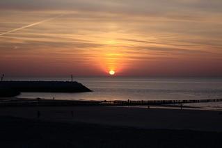 North Sea sunset (IV)