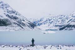 Hooker Valley (bruit_silencieux) Tags: sonya7 nz newzealand snow iceberg lake mountcook hookertrack hookerlake