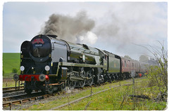 35018 (elr37418) Tags: dalesman steam 35018 hellifield west coast uk yorkshire england nikon d7100 sr merchant navy class british india line green red wheels railtour settle carlisle york