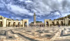 Saluti dal Marocco (celestino2011) Tags: nuvole casablanca moschea travel