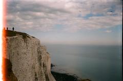 white cliffs (szmenazsófi) Tags: smenasymbol lomo smena analog analogue film filmburn 35mm cliffs whitecliffs dover kent england saxonshoreway outdoor landscape nature sea seaside shore beach coast