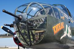B-25 Mitchell Nose (ronkacmarcik) Tags: b25 mitchell northamerican bomber california tondelayo nikkor357028 wwii