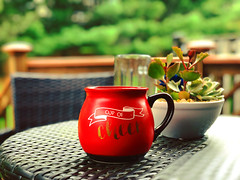 Morning Cheer (sudiptajin_thinkography) Tags: tea morning red home