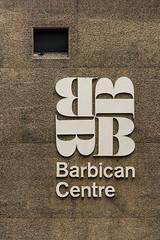 1969 (subterraneancarsickblues) Tags: london city cityoflondon squaremile barbican barbicanestate sign signage brutalist modernist concrete urban canon rebelt2i eos550d kissx4digital sigma18250mm