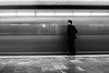 Subway Street Photography (Frederik Trovatten) Tags: subway metro shutter speed shutterspeed longexposure blackandwhite bnw black white man mexico city transportation station fineart fineartphotography waiting train moving trains public publictransportation monochromatic noir