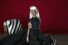 Adele Makeda Frosted Glamour. (U-Gin Starr) Tags: fr fashiondolls fashion fashionroyalty fashionfairytales adele adelemakeda frostedglamour
