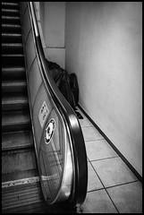 Dōgenzaka, Shibuya-ku, Tōkyō-to (GioMagPhotographer) Tags: tōkyōto building dōgenzaka afterdark shibuyaku stairs japanproject leicamonochrom empty japan detail dgenzaka tokyo tkyto