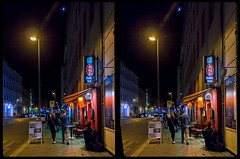 Nocturnal Berlin 3-D / CrossView / Stereoscopy / HDRaw (Stereotron) Tags: berlin spreeathen mitte metropole hauptstadt capital metropolis brandenburg city urban night nocturnal europe germany deutschland crosseye crossview xview pair freeview sidebyside sbs kreuzblick 3d 3dphoto 3dstereo 3rddimension spatial stereo stereo3d stereophoto stereophotography stereoscopic stereoscopy stereotron threedimensional stereoview stereophotomaker stereophotograph 3dpicture 3dimage twin canon eos 550d yongnuo radio transmitter remote control synchron kitlens 1855mm tonemapping hdr hdri raw availablelight streetphotography citylife