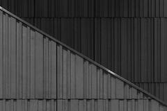 Montréal's Metro Station 49/68 - Villa Maria - Ligne Orange (VdlMrc) Tags: montréal metro subway architecture minimaliste minimalism monochrome blackandwhite noiretblanc géométrie geometry québec canada station stm