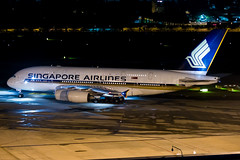 Singapore Airlines Airbus A380-841 9V-SKE (Mark Harris photography) Tags: spotting plane aviation aircraft wsss canon 5d