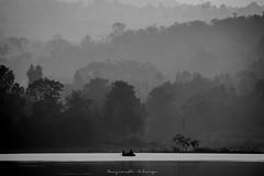 Mornings be like (acharya_mr) Tags: outofthecity travel india lakeview morning canon canonindia canonphotography monochrome blackandwhite layersofmorning