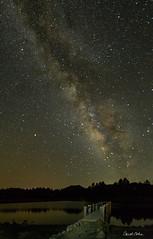 5DAR1176-Milky-Way-over-Lake-Cuyamaca (Carol Cohn) Tags: sky night milkyway stars meteor etaaquarid astrophotography lakecuyamaca rokinon 14mm lake dock