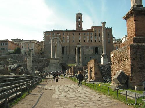 Римський форум, Рим, Італія InterNetri Italy 521