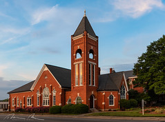 First Assoc Reformed Presbyterian Church - Rock Hill, SC (McMannis Photographic) Tags: rockhill southcarolina historic church photography hdr panorama architectureandrealestate travel destination abby architecture cathedral explore highdynamicrange holyplace monastary pano religiousinstitution sc southeast tourism