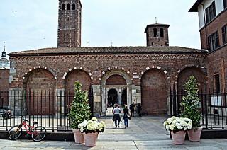 La Basilica a festa.